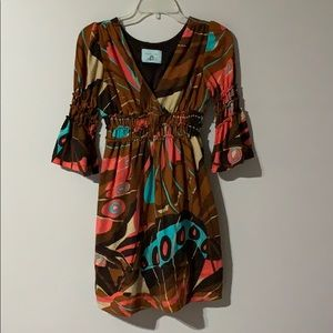 Judith March - Multi-Color Dress - Size Small